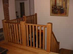 French Polished Stair Rail